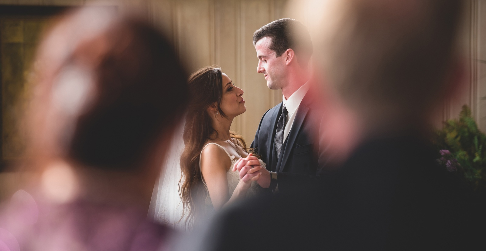 Newly Wed Couple Dancing captured by Guelph Wedding Photographer - Devon Crowell